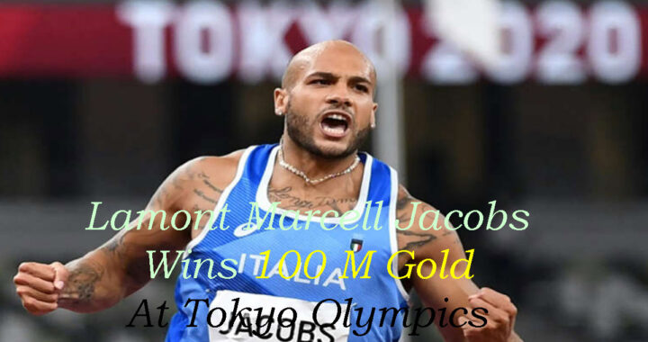 Lamont Marcell Jacobs Olympic 100m champion wants to recharge for 2022