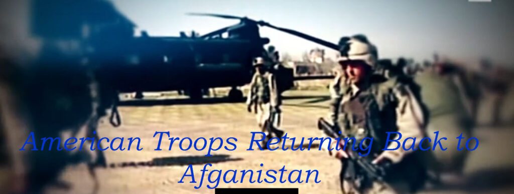 Boots Back in Afganistan