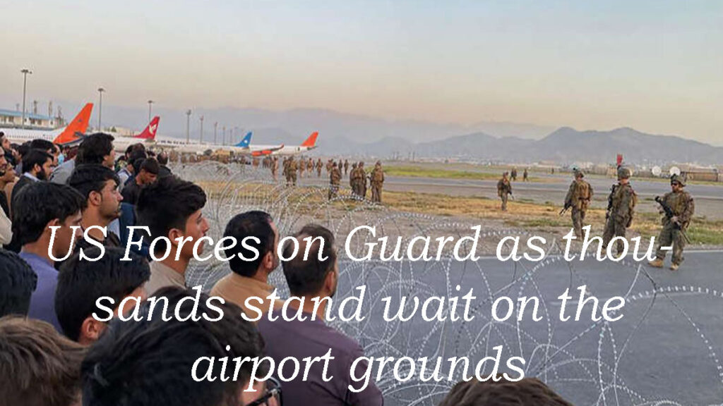 Us Forces Stand Guard