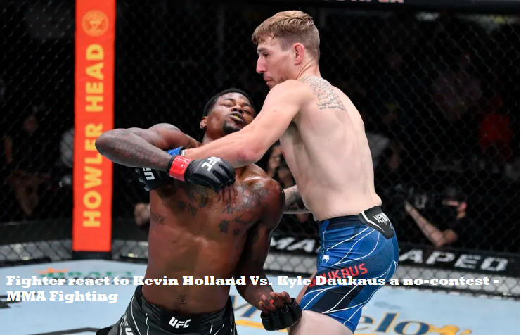 Kevin Holland In a UFC Fight
